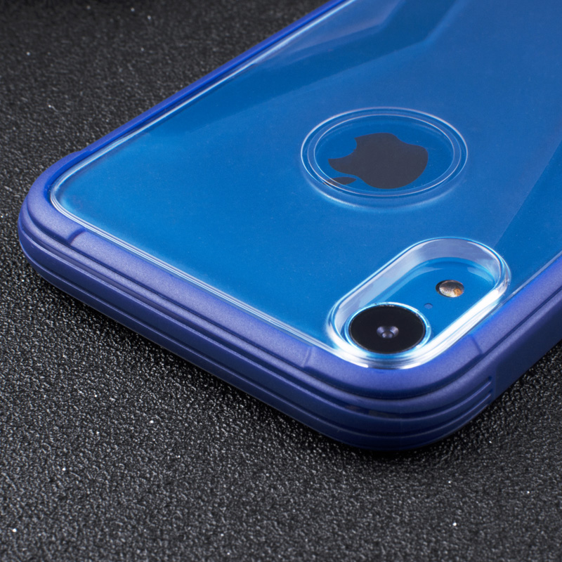 IPhone Xr Silicone Bumper Frame Shockproof Anti-Scratch Cover