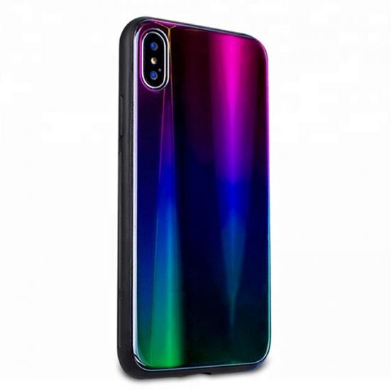 34dda748fb2 Estuche protector de lujo IPhone X Luxury Aurora TPU para teléfono celular