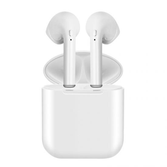 eaa83424d5b I9 Mini auriculares inalámbricos Bluetooth con estuche de carga para iPhone  y Android