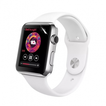 Apple Watch serie 3 flexible transparente nano tpu protector de pantalla de película de 38 mm