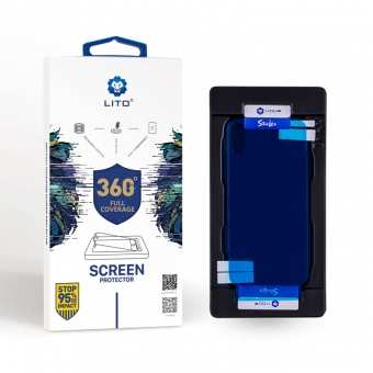 Iphone 5 Cuerpo Completo 360 Grado Militar Calidad Escudo Invisible Protector De Pantalla